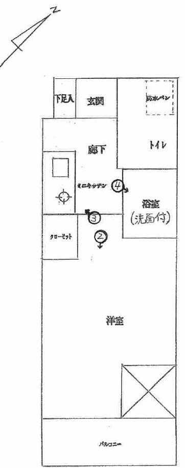リヴシティ横浜東ベイサイドの間取図