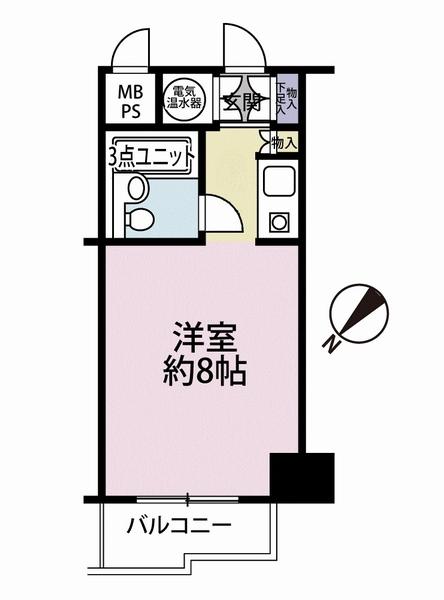 藤和横浜西口ハイタウンの間取図