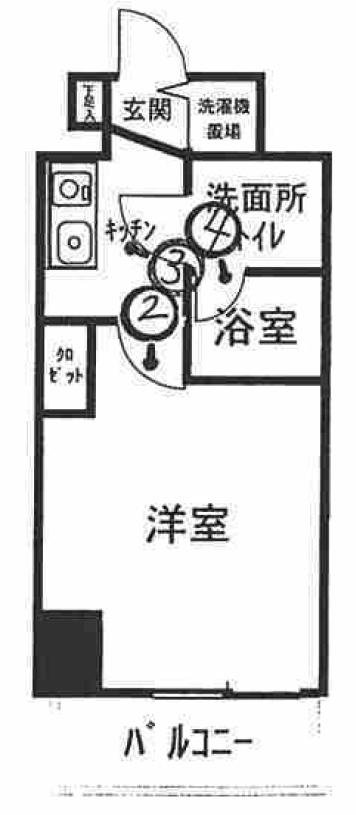 SYNEX横濱阪東橋IIの間取図