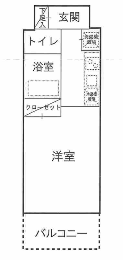 ドルチェ横浜桜木町の間取図