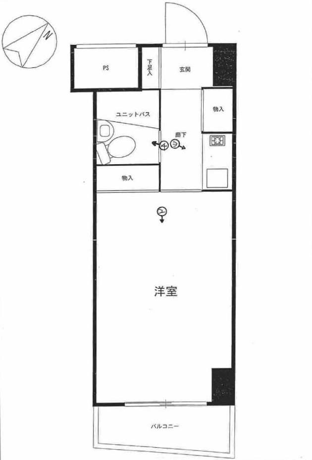 横浜平沼ダイカンプラザ2号館の間取図