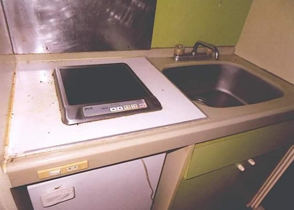 横浜平沼ダイカンプラザ2号館のキッチン