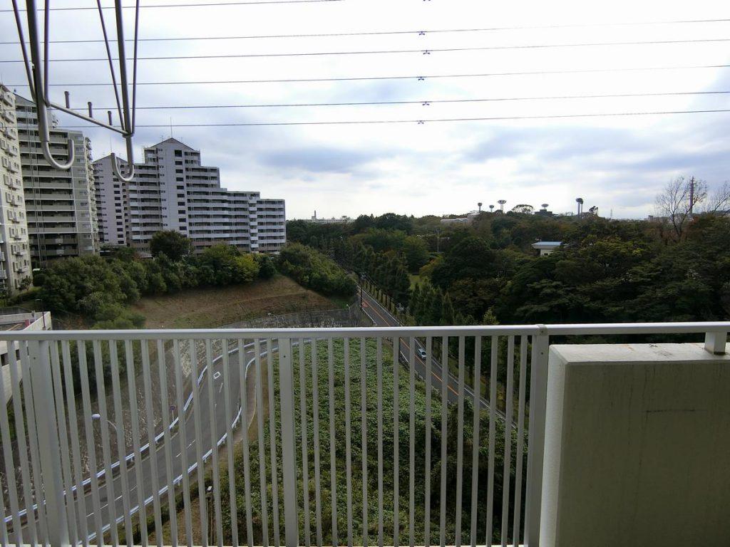 URコンフォール明神台の眺望