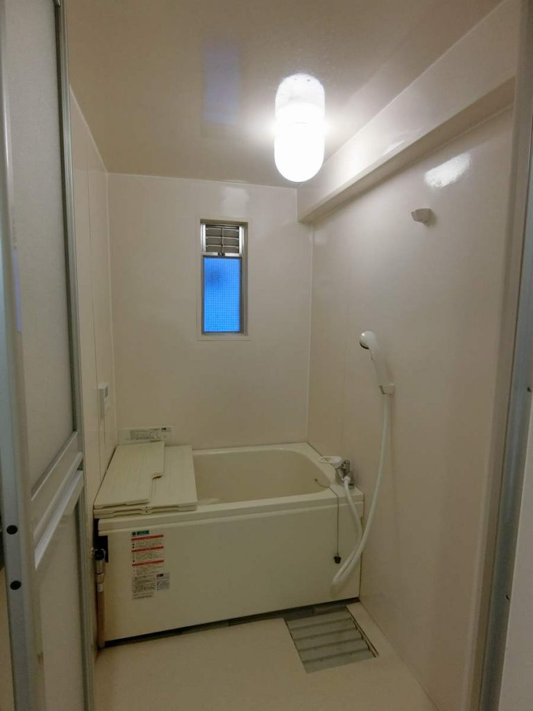 UR天王町団地の浴室