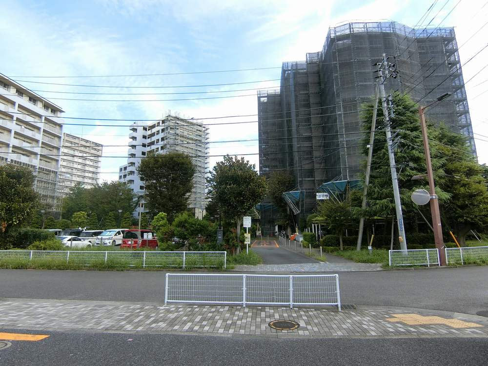 UR新川・島屋敷通り