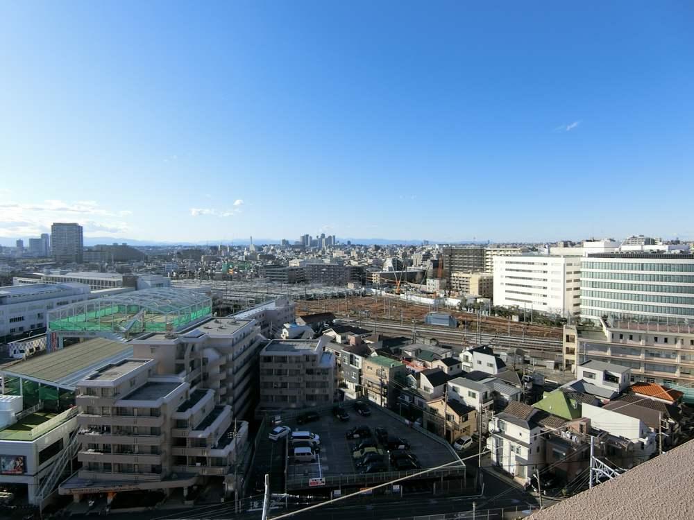 蒲田のマンションからの眺望