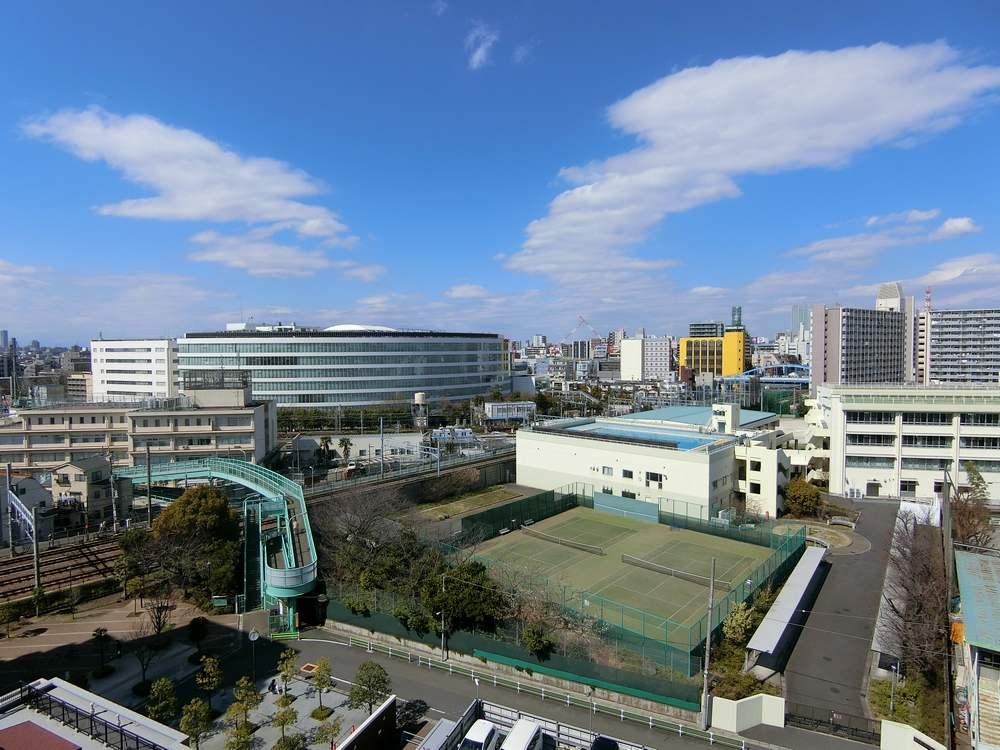 蒲田駅方面の眺望