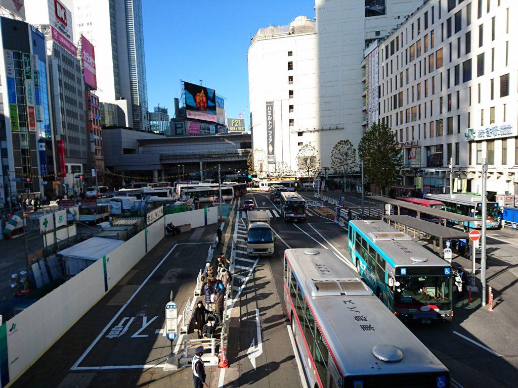 渋谷駅西口