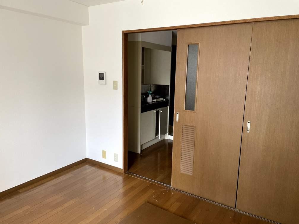 府中のマンションの室内