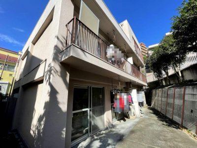 横浜市磯子区のRC造マンションの現地調査