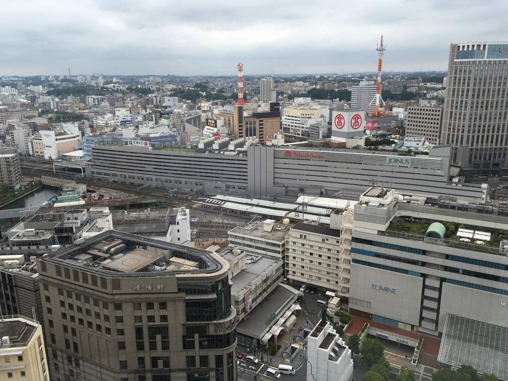 横浜駅(2016年)