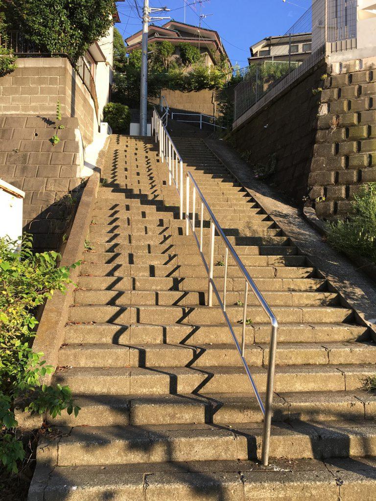 階段状道路
