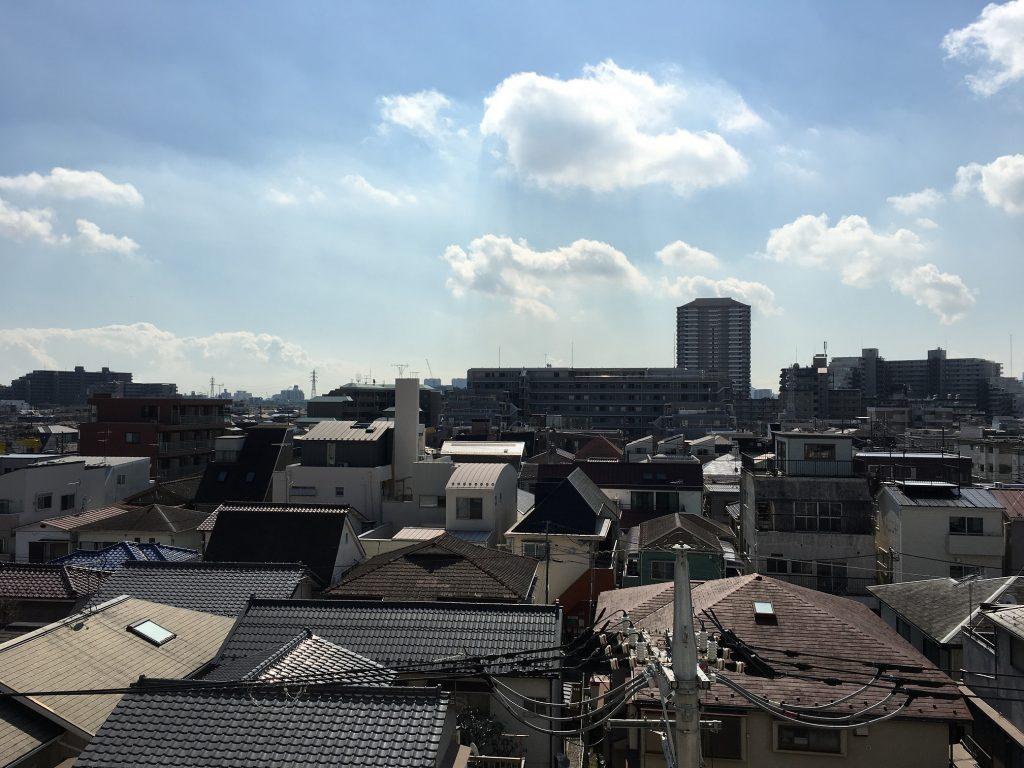シャレール新蒲田の眺望