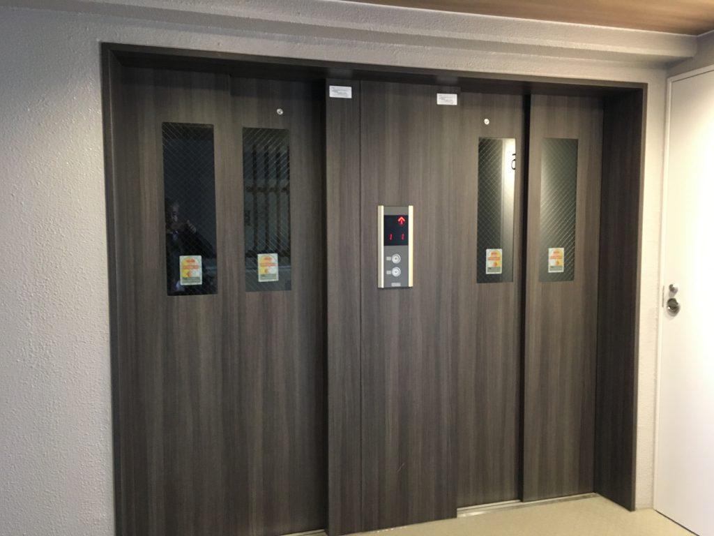 シャレール新蒲田のエレベーター