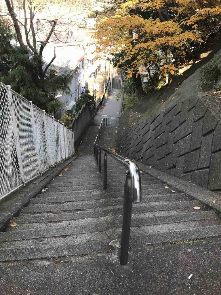 横須賀の階段