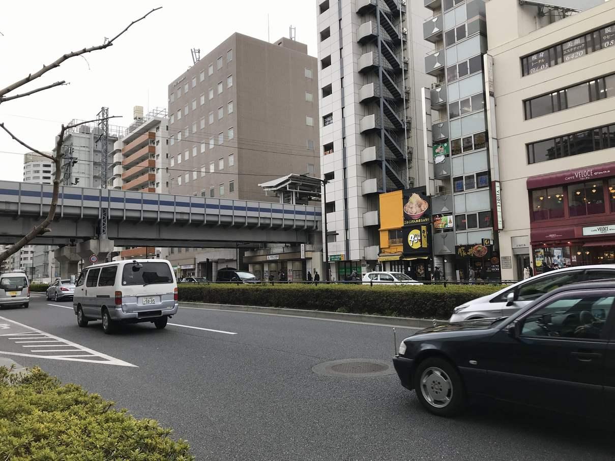大崎広小路駅付近