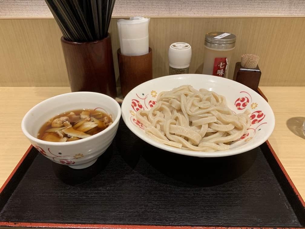 三鷹駅の武蔵野うどん