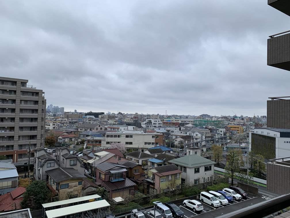 蒲田の風景