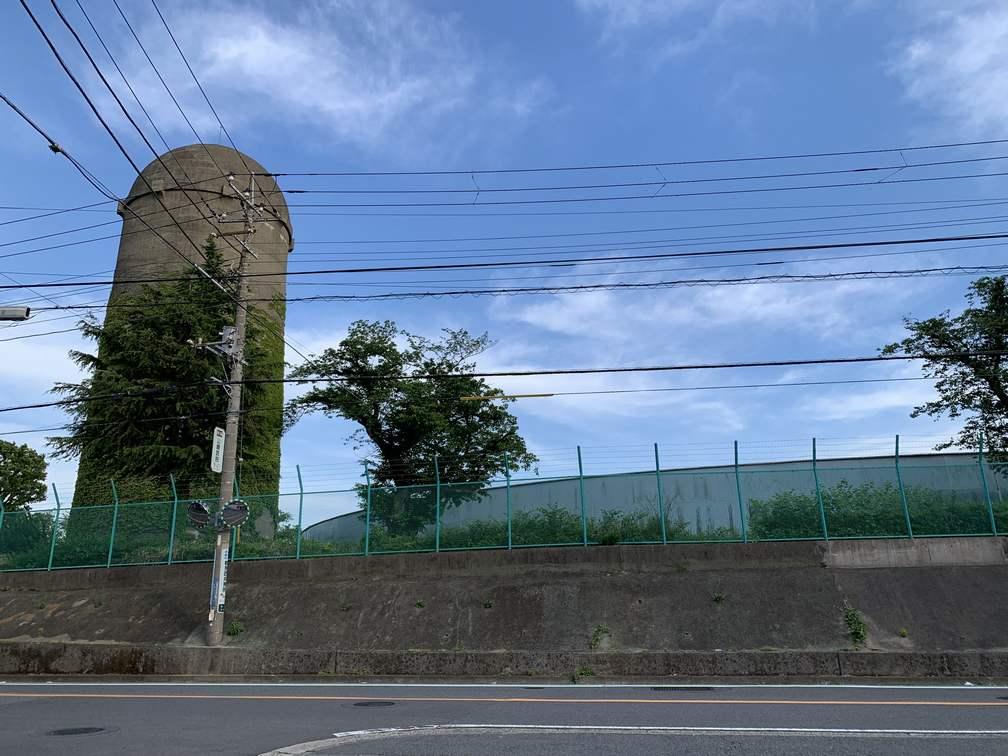 鶴見配水池配水塔(ねぎ坊主)