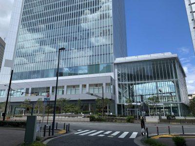 横浜市役所で物件調査
