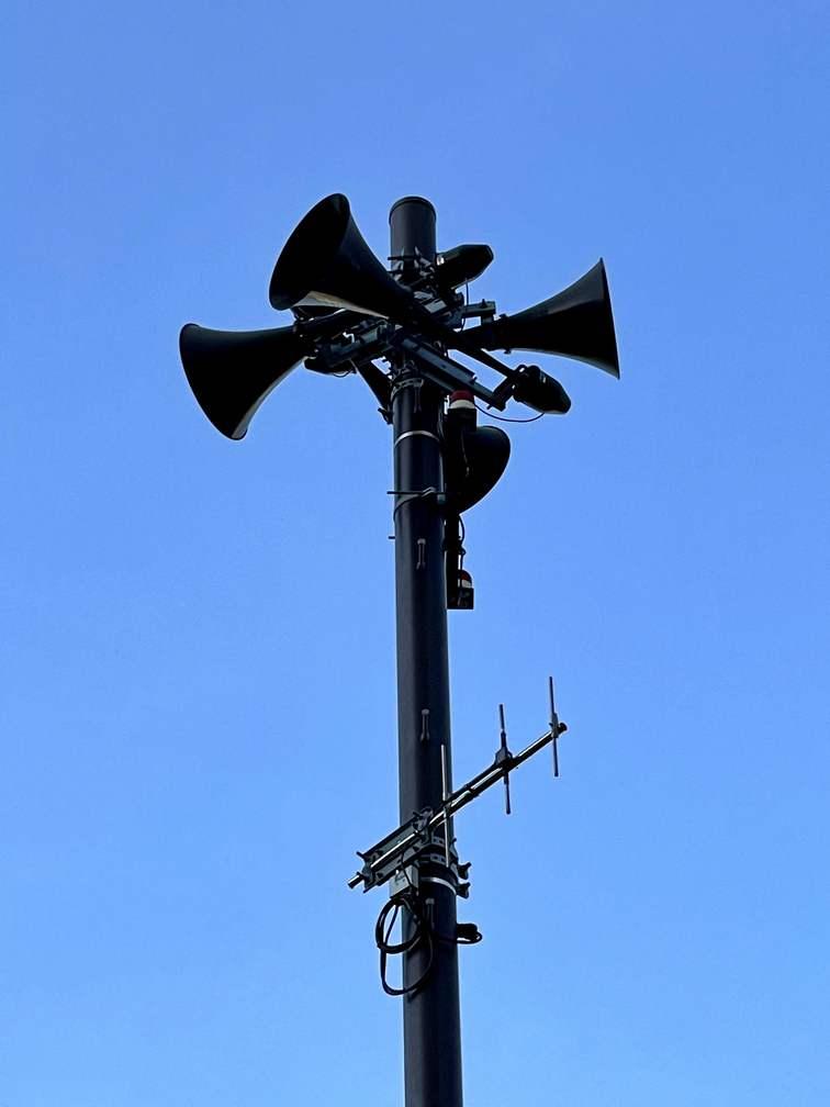 津波警報伝達システム