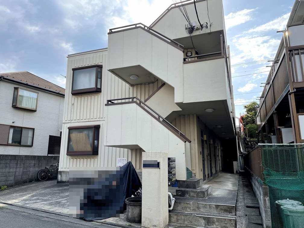 百合ヶ丘のアパート