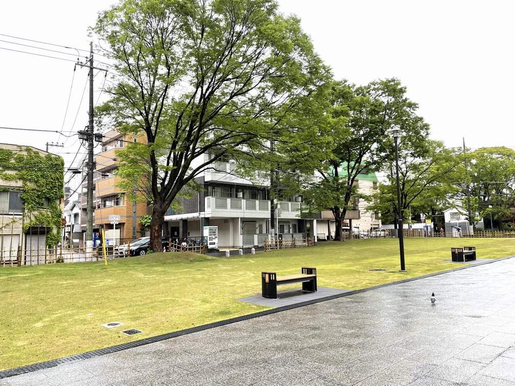 通町公園付近のマンション