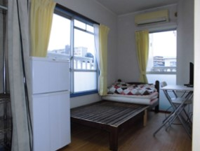 横浜ハイタウンの室内