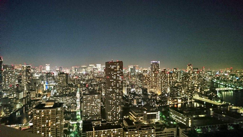 ザ・パークハウス晴海タワーズティアロレジデンスの眺望(夜景)