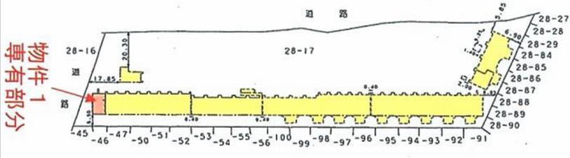 コスモ瀬谷パークサイドステージの平面図