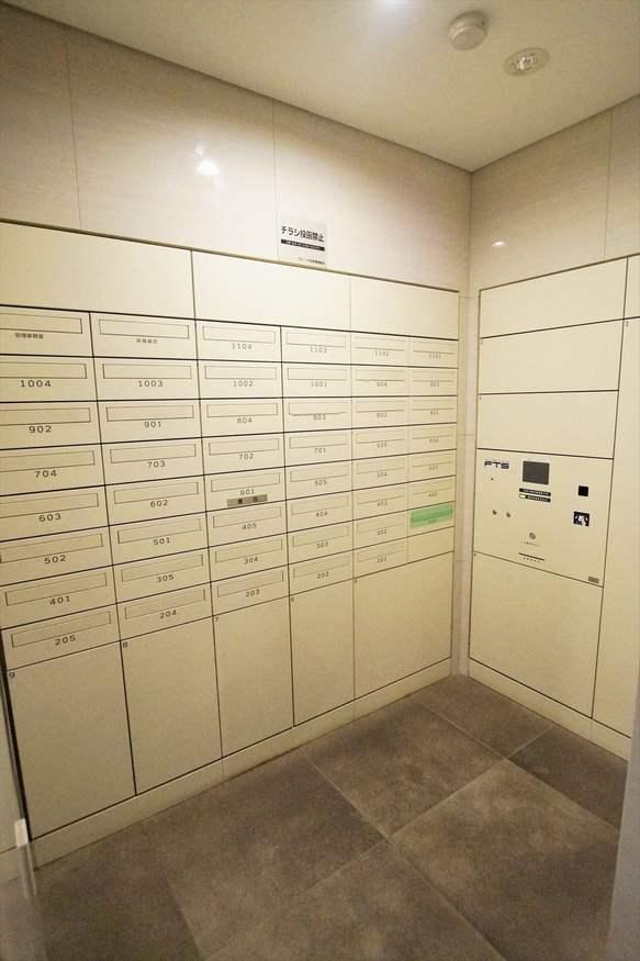 グローリオ田町のメールボックス・宅配ボックス