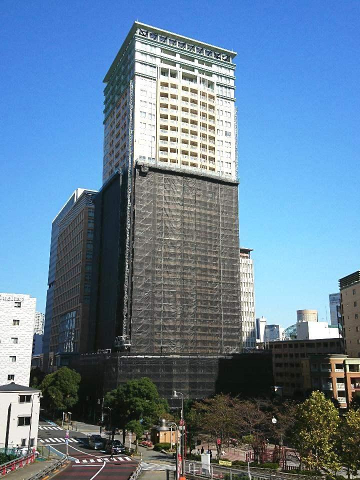 ザ・パークタワー東京サウス(大規模修繕工事中)