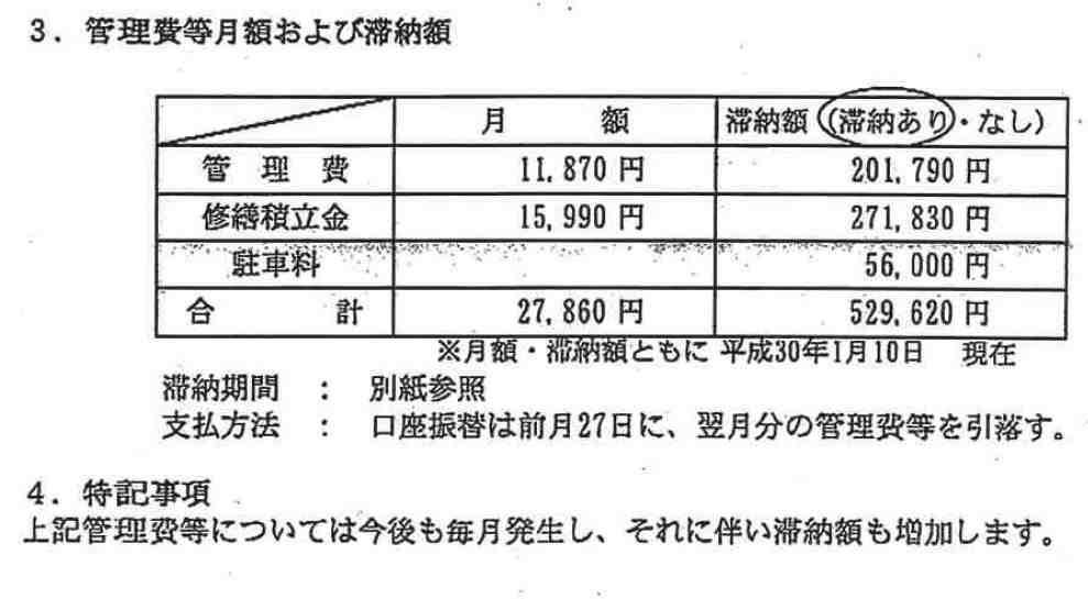 ライオンズマンション日吉ガーデンシティの管理費等