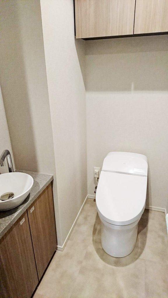 ザ・パークハウス晴海タワーズティアロレジデンスのトイレ