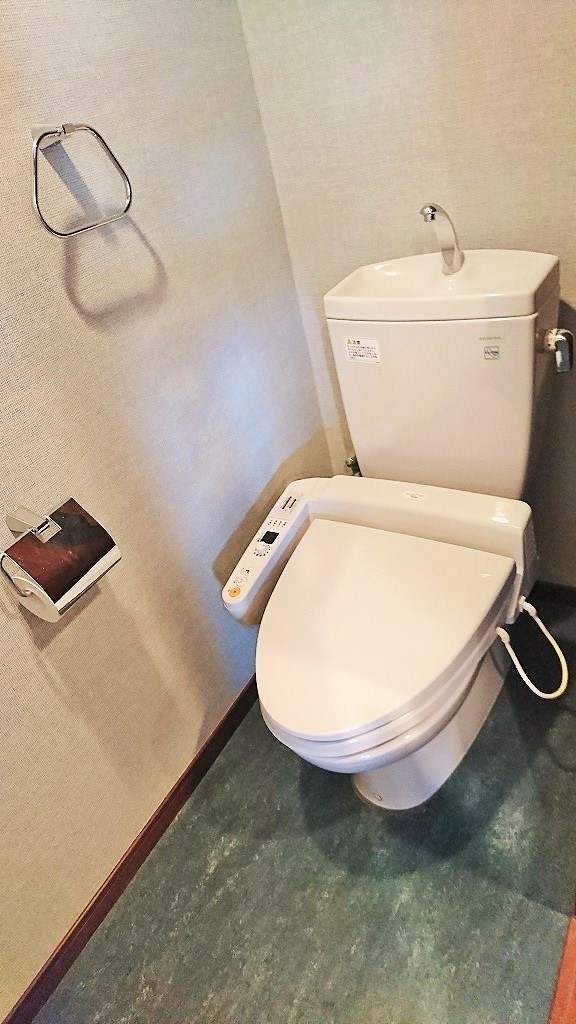 ピアース自由が丘のトイレ