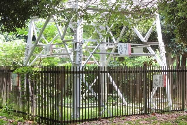 高圧線の鉄塔