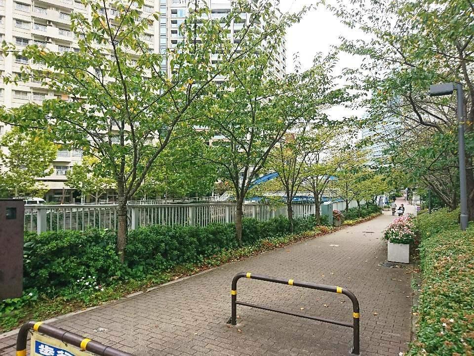 至近の目黒川緑道