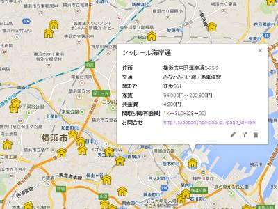 UR賃貸住宅が地図で探せるようになりました